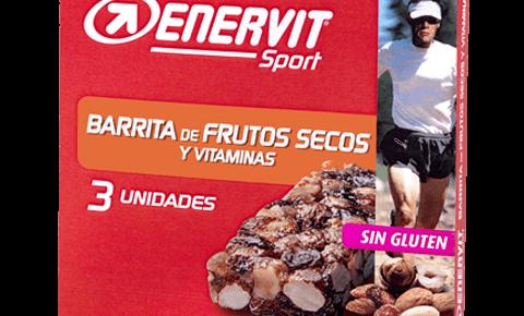 Barrita de frutos secos y vitaminas para deportistas - Enervit Sport