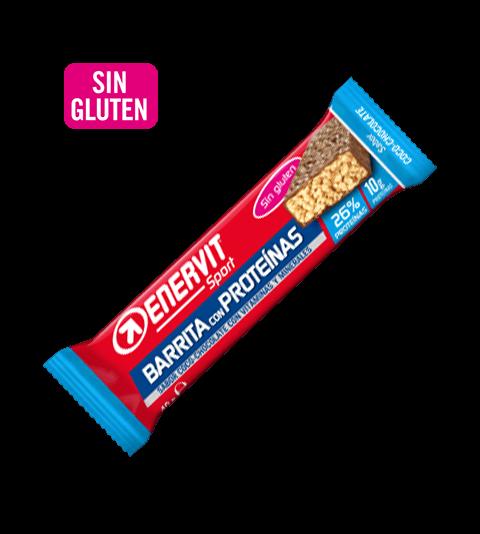 Barritas con proteínas para deportistas sabor Coco-Chocolate - Enervit Sport